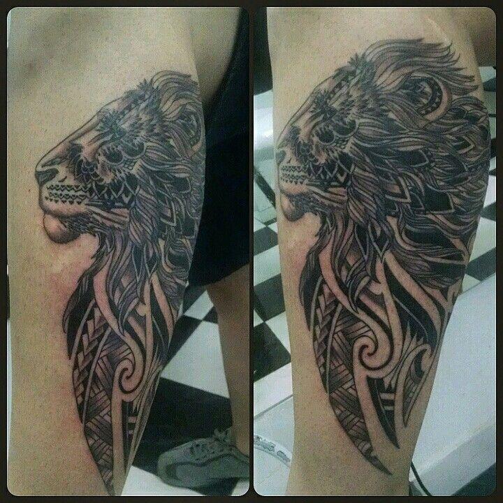 Lion black