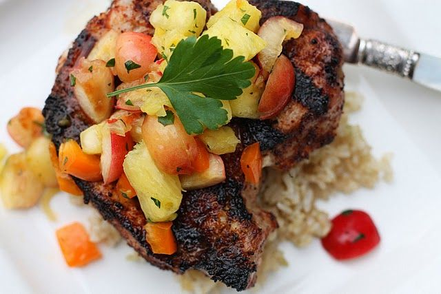 ... Chili-Rubbed Pork Chops | Stick-to-yer-ribs Food | Pinterest | Pork