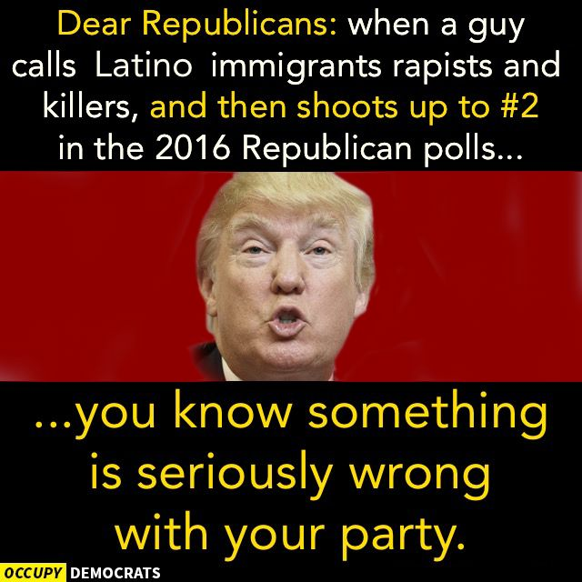 What's the difference between a republican and a racist? Yea, I can't figure it out either.