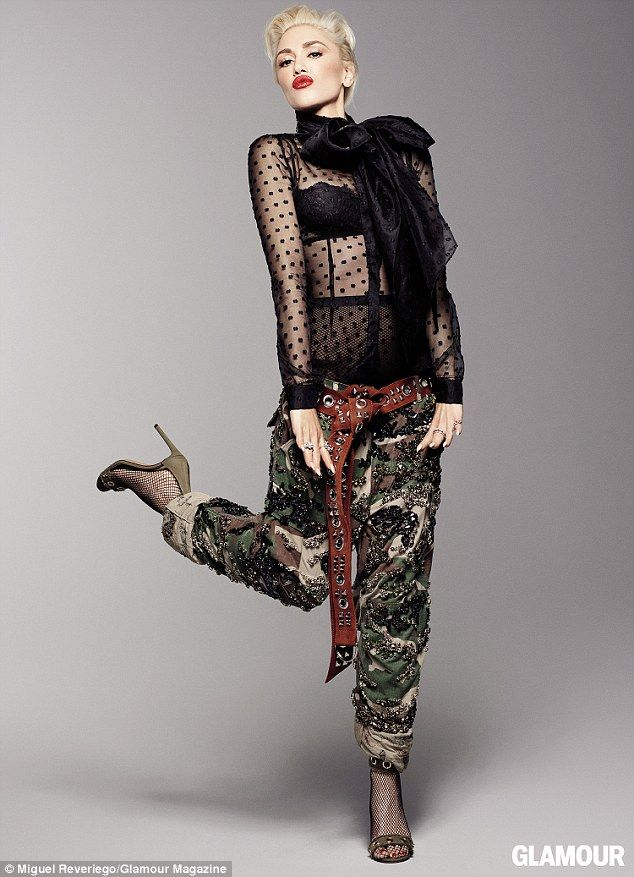 A new her: Gwen Stefani told the December issue of Glamour that she has changed dramatical...