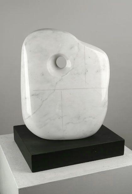 """Barbara Hepworth - """"Moon Form"""""""