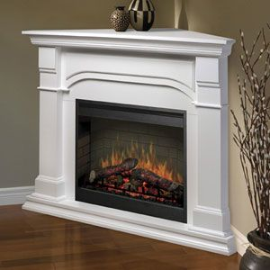 24 best Fire places images on Pinterest | White electric fireplace ...