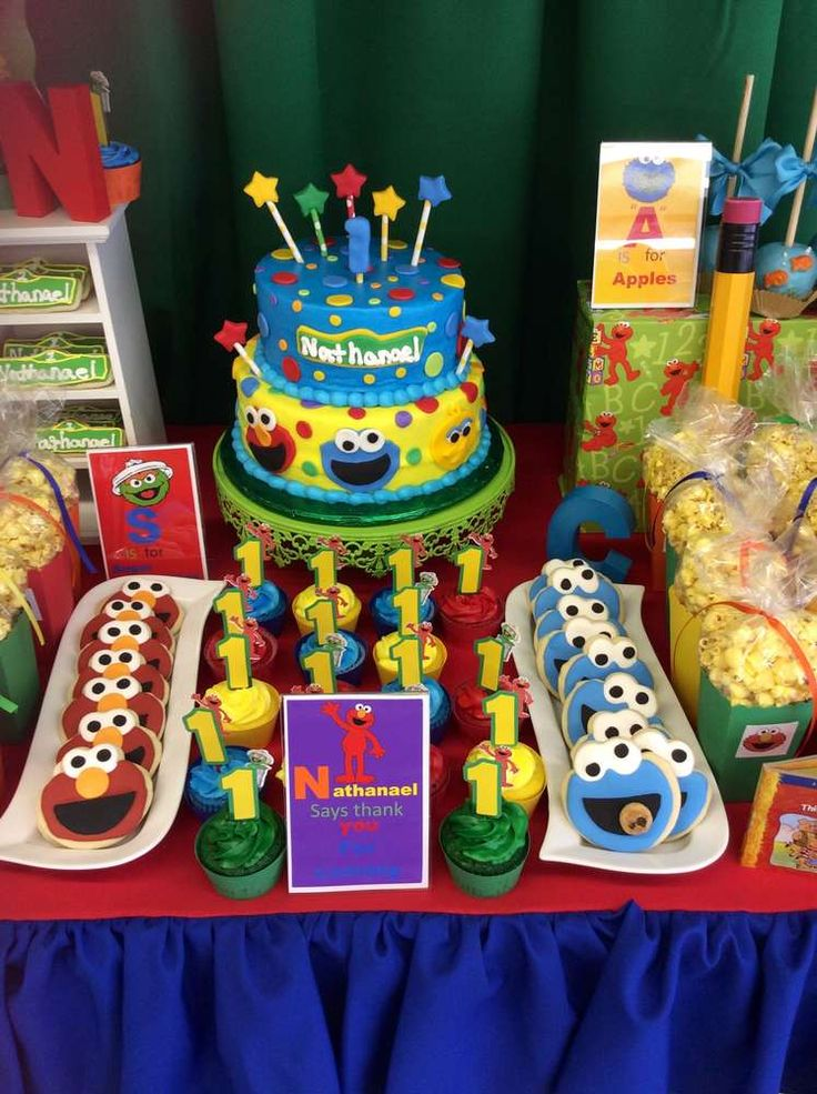 Sesame Street Birthday Party Ideas | Photo 5 of 17 | Catch My Party
