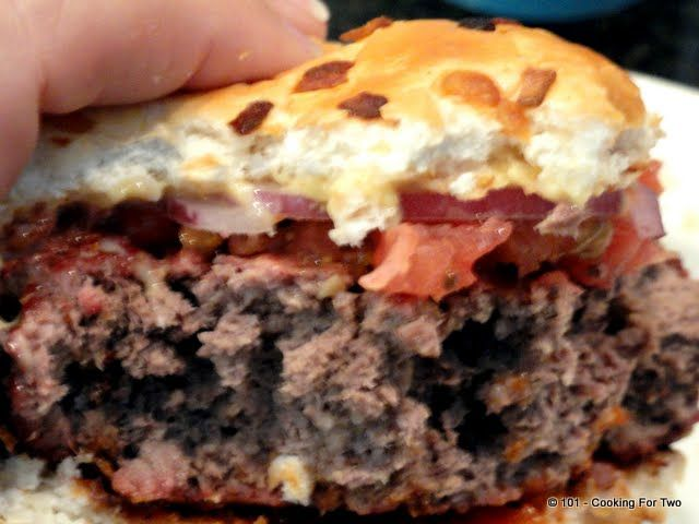Healthy Low Fat Burgers - From 101 Cooking For Two