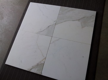 Calacatta Borghini 12x12 Honed Marble Tile traditional bath products