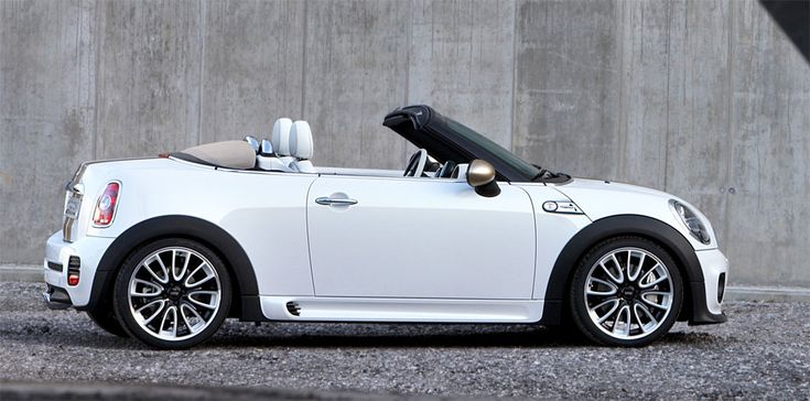 Mini Cooper Roadster. Actually thought that these looked cute but, with only two seats, and also a convertible model in the range, sales were always destined to be poor