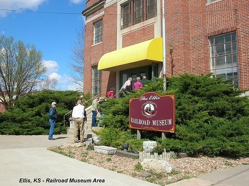 The Ellis Railroad Museum, Ellis, KS