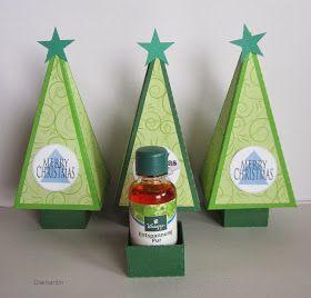 Kleine Weihnachtsgeschenke.   Kneippbad im Tannenbaum                      Die Schneidedatei ist von Ramona M.   Eine Anleitung und Vorlag...