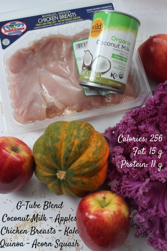 3 Recipes For G Tube Blends With Fresh Whole Foods Elias Diet