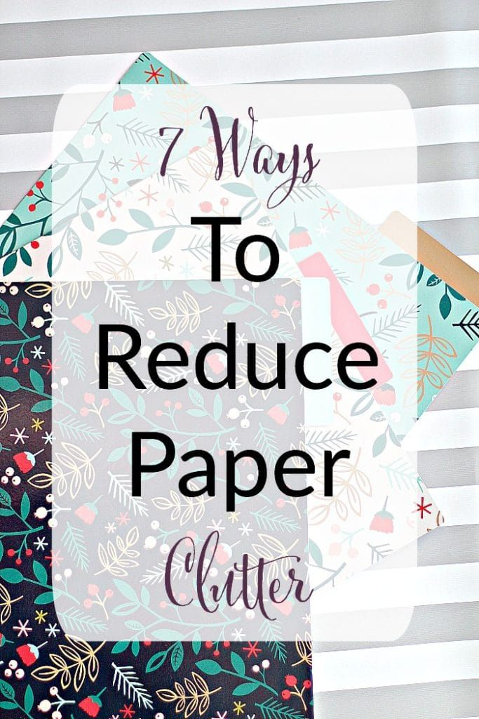 A professional organizer and productivity specialist shares her tips to reduce paper clutter in your home!
