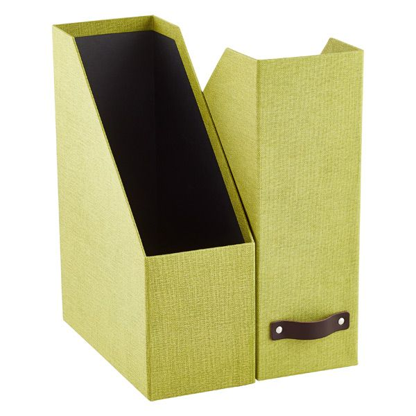Bigso Marten Green Magazine Holder