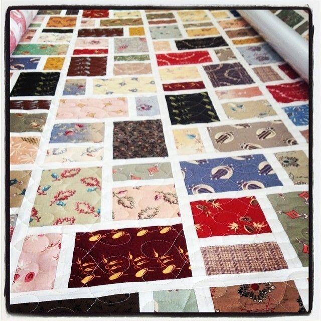 Японская ткань Фьюжн одеяло на Аидзомэ