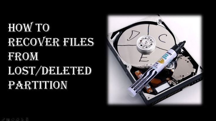 RePicvid Free Photo Recovery could be used as a partition recovery software to restore files from deleted or lost partition of hard drive.