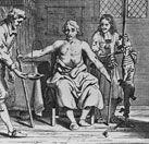¿Cuándo se hizo la primera transfusión de sangre?
