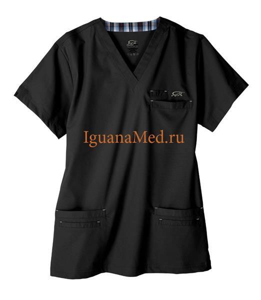 Где купить хирургический костюм черного цвета спб