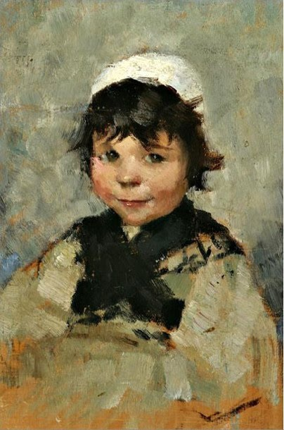 Maria Wilk. Her portraits are amazing, but don't bother googling her. Just look here.