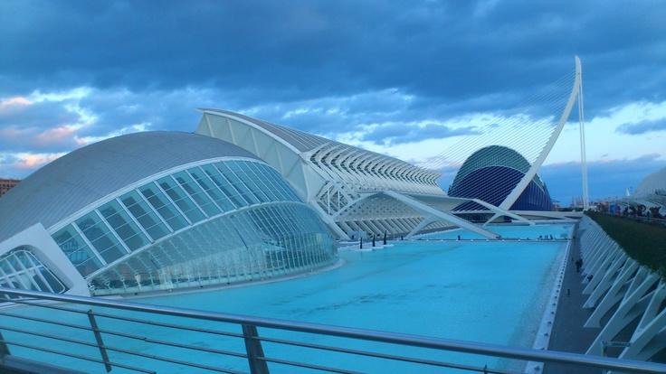 Foto de la Ciudad de las Ciencias de Valencia
