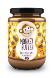Monkey Butter:  Salted Caramel