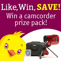 Enter to win a camcorder prize pack. Register for DealChicken to receive emails for deeply discounted prices on the best things to see and do around town from restaurants and spas to travel and golf. There's even a Marketplace of convenient shop-at-home deals. Signup here and I get two extra sweepstakes entries.