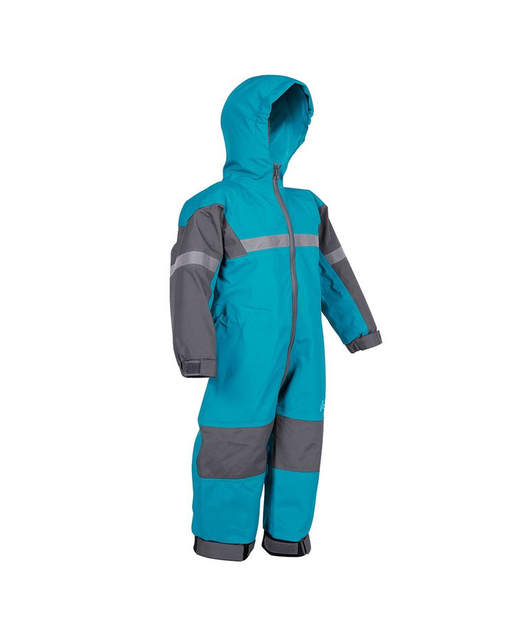 Children's Trail One Piece Rain Suit, Celestial Blue | Oakiwear - Rain Gear, Kids rain suits, kids waders, kids rain gear, and kids rain coats