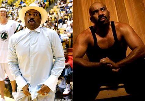 12 Extreme Celebrity Fitness Transformations - Steve Harvey