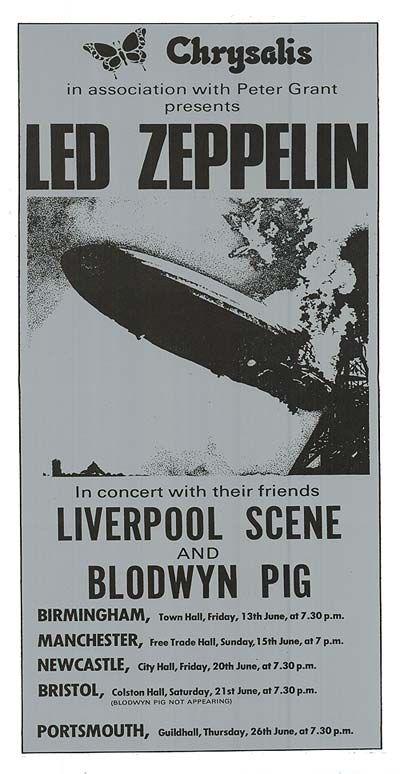 Chrysalis & Peter Grant Present Led Zeppelin