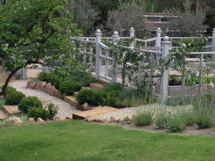 Garden Covers For Vegetables Part - 47: LOVELY Gated Garden Enclosure Containing Raised Beds, All With Irrigation |  Aka Potager Or Kitchen