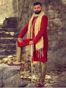 Reception Wear Sherwani