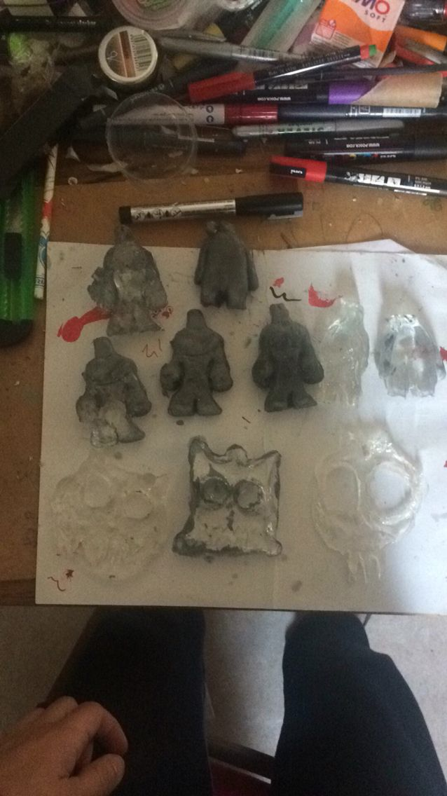 Silicone Moulds and Resin Casting