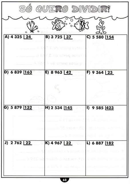 Rosangela.Aprendizagem: Divisão-Passos/Termos/Cálculos