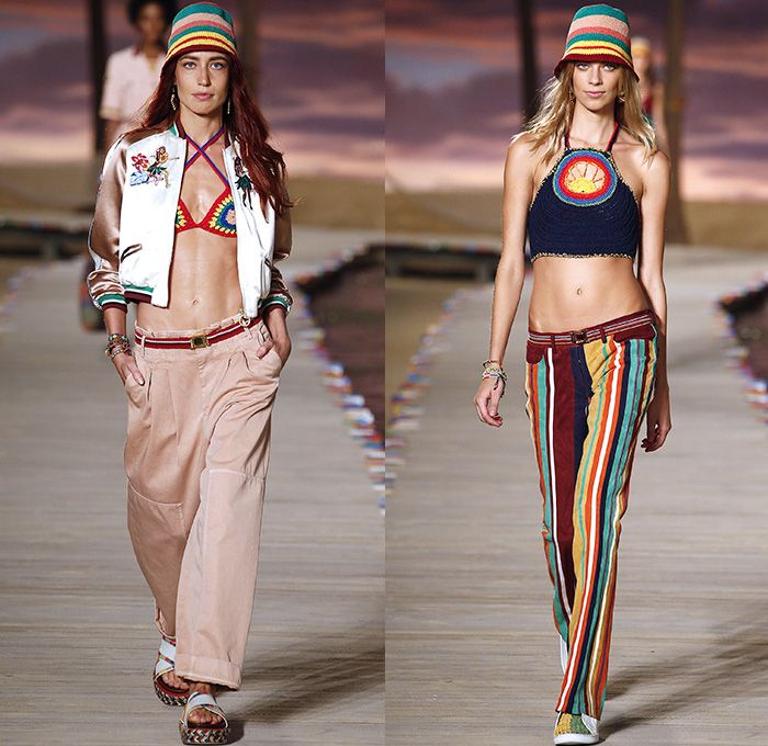 Tommy Hilfiger in New York Spring-Summer Fashion Week