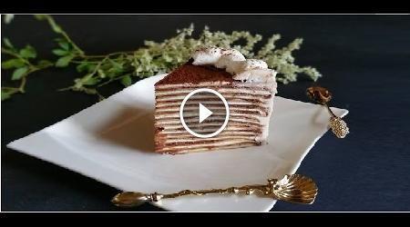 """La """"Torta di crepes, nutella e mascarpone"""" è un dolce che non passa inosservato sia per aspetto che per gusto. Proprio per questo potrebbe essere preparato"""