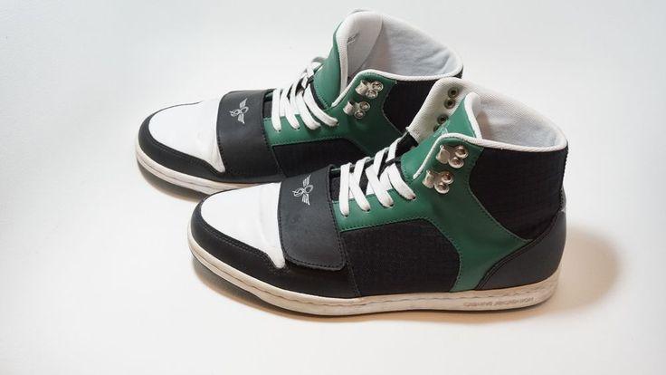 Men's Creative Recreation High Top Fashion Sneakers Shoes Size 9 [Green]  #CreativeRecreation #HighTop