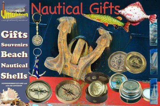 Ook voor de nautische geschenken Groeten uit IJmuiden!