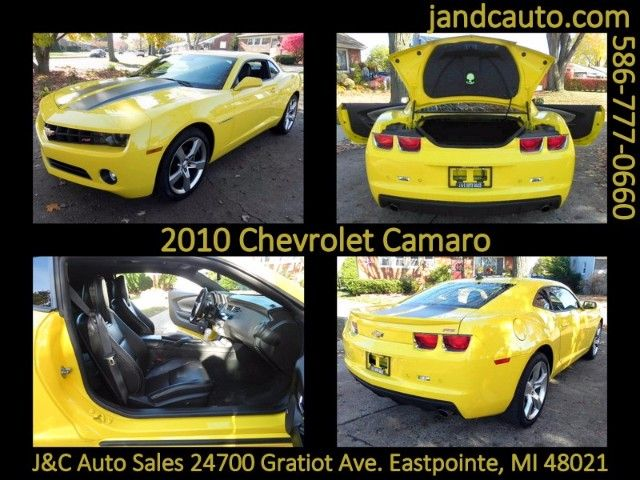 Used 2010 Chevrolet Camaro LT2 Coupe for Sale in Detroit MI 48021 J