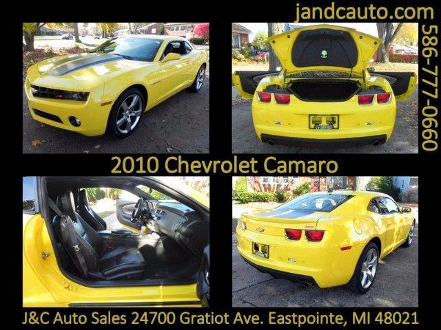 Used 2010 Chevrolet Camaro LT2 Coupe for Sale in Detroit MI 48021 J