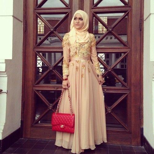 gaun kebaya muslim 12