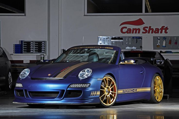 Porsche 911 (997) Carrera Cabrio by Cam Shaft & PP-Performance