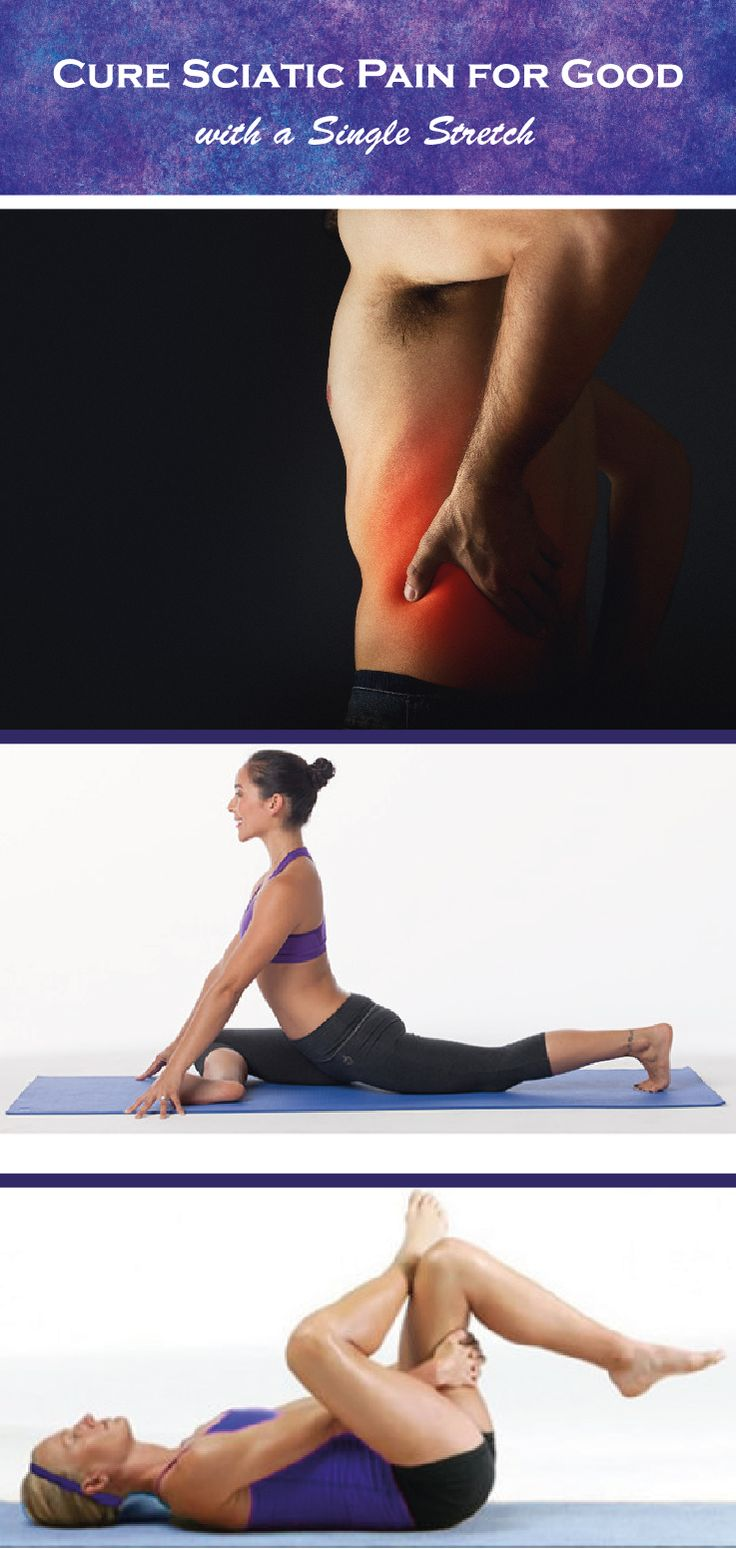 Lower back pain, or sciatica, can be debilitating. How do you stop or prevent it? With this simple movement called the piriformis stretch! #stretching #fitness #healthyliving