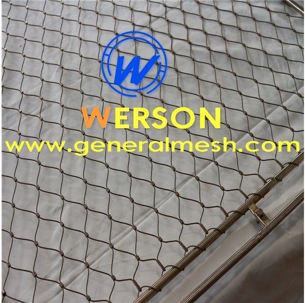 Hebei Général Toiles Métalliques Produit SARL Offre remplissage filet métallique Webnet ø 1,5 mm ,Filets en inox : X-Trend et Webnet - Architecture,filet métallique en inox Architecture,Maille inox de 60x40mm, filet métallique en câble inox .  Email : sales@generalmesh.com Skype:jennis01 Wechat: 148117712