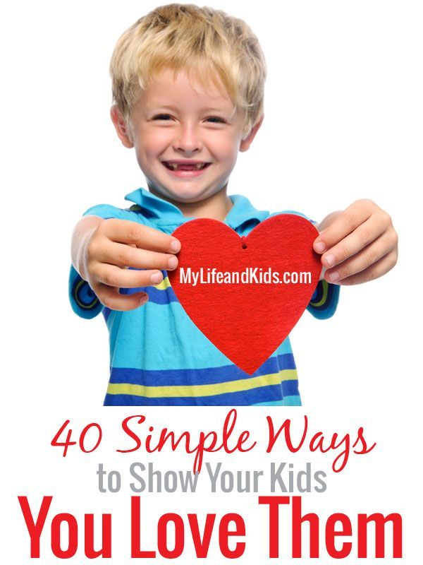 Ways Simple outlet You Kids Your to Them online Show official store   Simple Love