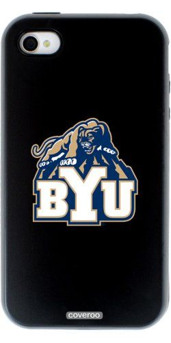 That is cool - Coveroo Guardian Case Hard Case for iPhone 4/4S (Black) BYU Mascot #LDSproducts #MormonProducts #CTR