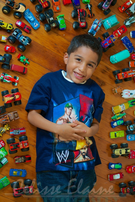 Kids and their love for cars <3. Perfect For Gabe!