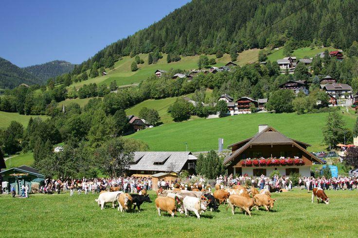 Im Tal angekommen wartet ein buntes Fest für Gäste und Einheimische