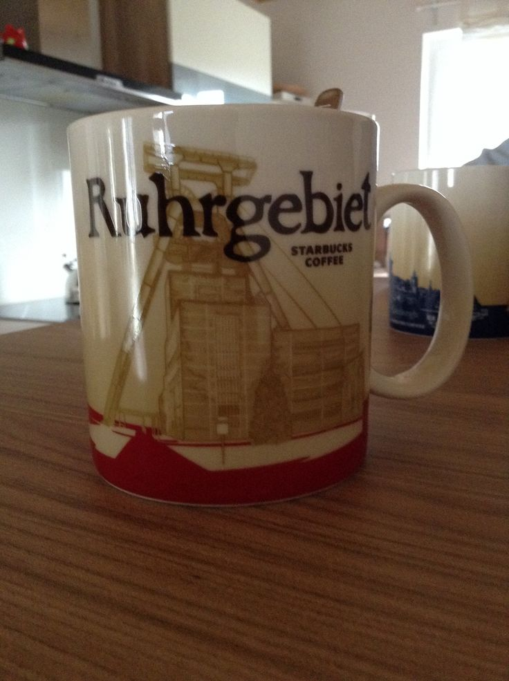 Ruhrgebiet Starbucks City Mug