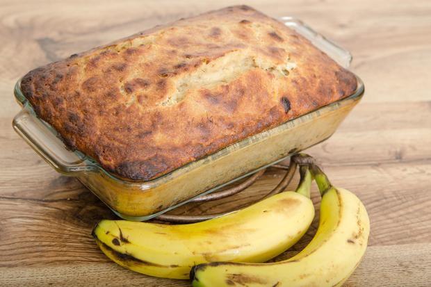 Como utilizar purê de maçã em pão de banana