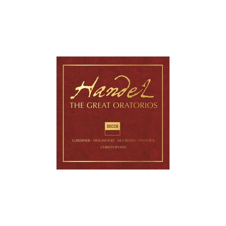 Handel: The Great Oratorios & Various - Handel: The Great Oratorios / Various (CD)