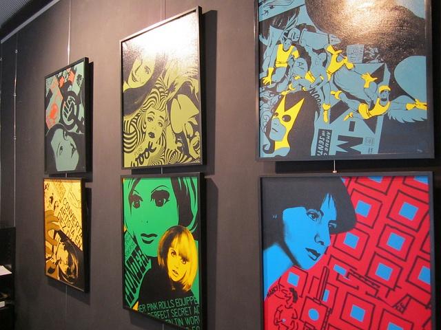 Paintings by Ringo Julian, May 2013
