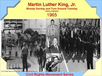 This is a packet you can use for Martin Luther King, Jr. Day, Bloody Sunday or Turn Around Tuesday - Civil Rights Activities in U.S. History & World History.  It is written for Special Education/English Language Learners (9th - 12th grade).  It includes:  1) 1 page Instructions; 2) 2 pages (10 questions True/False) Pre/Post Test with simple        assessment; 3) 4 pages (Answer pages for Pre/Post Test with short      explanations); 4) 1 page Quick Hook; 5) 1 page Essential