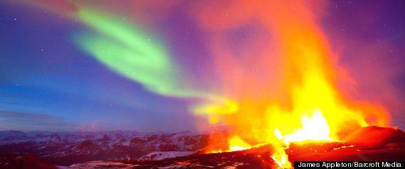 Iceland and the aurora borealis
